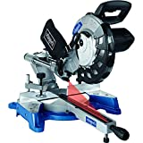 Scheppach 590 1202 901 240 V 10-Inch 254 mm Sliding Mitre Saw-Grey/Blue, 2000 W