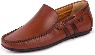 FAUSTO Men's Casual Leather Loafers