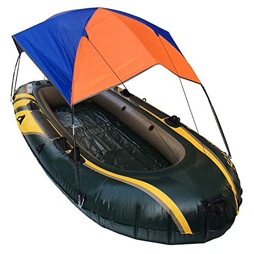 Euopat-Bootszelt, Aufblasbares Kajak-Markisendach, Faltbares 2-4-Personen-Bootszelt/Segelboot-Markisendach/Regenschutz-Fischen-Camping-Sonnenschutz-Schutz-Kit