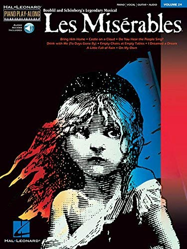 Les Miserables: Piano Play-Along Volume 24