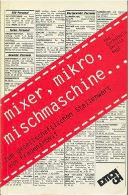 Mixer, Mikro, Mischmaschine.