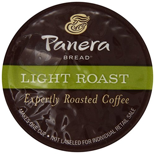 Panera Bread Coffee, Light Roast, 12 Count