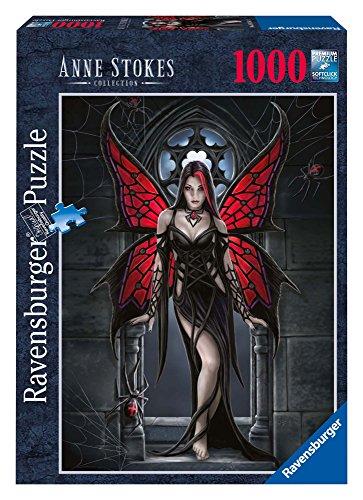 Ravensburger 19161 - Anne Stokes gótico de la Mariposa - 1000 Rompecabezas Pieza