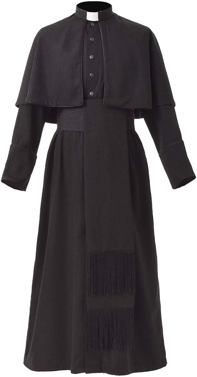 BLESSUME Priest Classic Soutane Roman Cassock Raleigh Mall Choir Cas Costume Minister