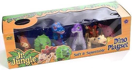 cómodamente Soft and Squeezable Dinosaur Playset Playset Playset by Wild Republic  servicio de primera clase