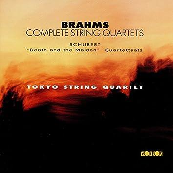 Brahms: Complete String Quartets - Schubert: String Quartets Nos. 12 & 14
