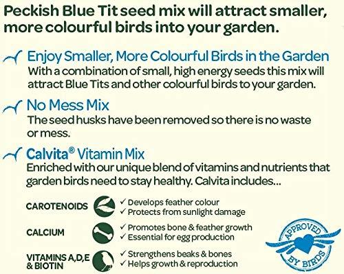 Peckish Blue Tit Bird Seed Mix, 1 kg