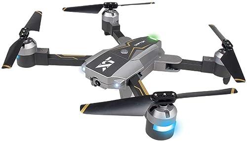 Xmiral Drones XT - 8 d'optique Suivre rc Drone avec 1080 caméra vidéo en Direct Quadcopter repliables (Noir)