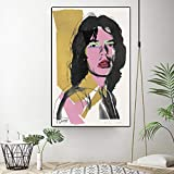 Bilder Auf Leinwand,Andy Warhol Poster Mick Jagger/Kunst
