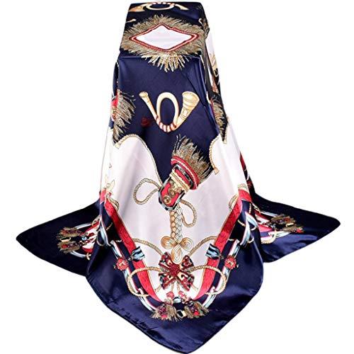 Keahup Vrouwen Sjaal, Maleisië Moslim Hijab Vrouwen Imitatie Zijde Vierkante Sjaal Kwastjes Gevlochten Knoop Print Nek Sjaal Islamitische Hoofd Wrap Hoofddoek