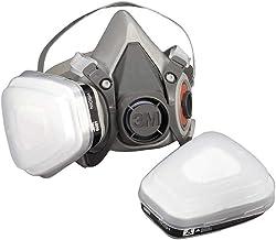 3M herbruikbaar halfmasker 6100 (masker zonder filter), maat S, adembescherming, 1 stuk