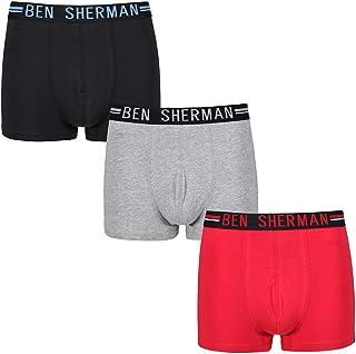 Ben Sherman Jungen Kinder 4er Pack Boxer Boxershorts Unterhose Unterwäsche