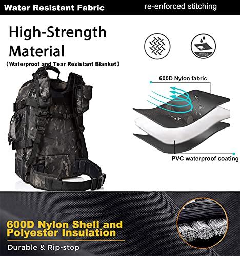 WolfWarriorX Military Tactical Hiking Backpack