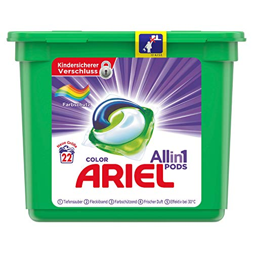 Ariel All-in-1 PODS Color kleurbescherming, 22 wasbeurten