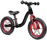Bicicleta de equilibrio de los niños al aire libre s bicicleta de equilibrio sin pedal de entrenamiento adecuado para principiantes de 2 a 6 años