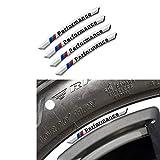 MAXMILO Aluminum Wheel Center emblems Decoration Cover Trim For BMW ///M 1 2 3 4 5 6 Series X3 X4 X 5 X6 (F20 F21 F22 F23 F30 F31 F32 F33 F35 F36 F10 F11 F12 F13 F26 F15 F16)