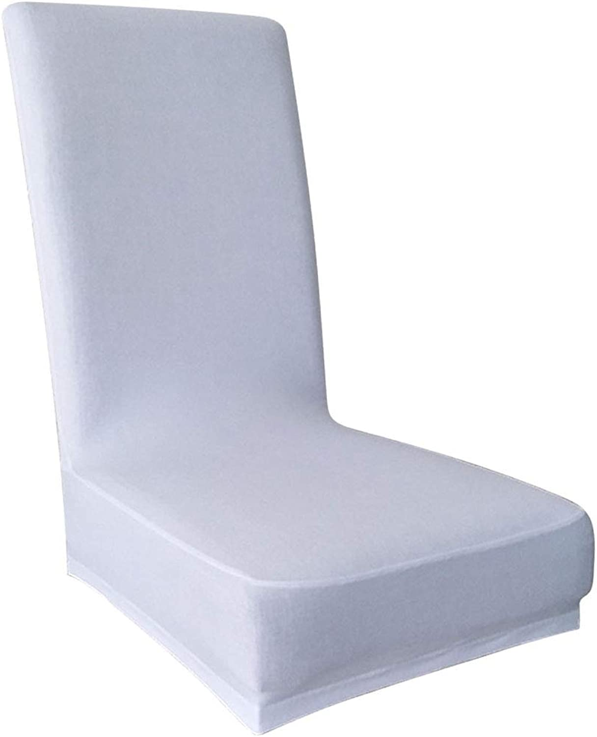 TOPBATHY 6pcs Polyester Elastic HalfCover Pure color Chair Chair