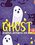 Ghost Journal notebook for kids: The Girl with Ghost Eyes Write Down Ghost Stories Line Journal Notebook Ghosts of the Shadow Market, Journal for Boys, Women, Men, Children and All Students