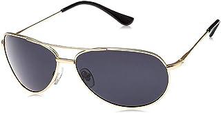 نظارة شمسية للرجال مقاس 65 ملم من تي اف ال - اسود