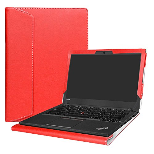 Alapmk Protective Case Cover For 12.5' Lenovo ThinkPad A275 A285 & ThinkPad X280 X270 X260 X250 X240 Laptop,Red
