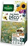 Vilmorin-Mélange de fleurs méllifères - semences pour plantations - fleurs basses 30 cm annuelles pour 50m²- fleurs riches en nectar pour nourrir les abeilles