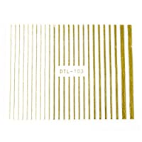 [DTL-103] ゴールド ラインテープ ネイルシール ネイルシール ネイルアート