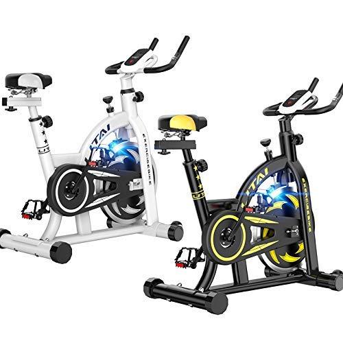 YUHT Bicicleta estática para Interiores, Volante de inercia