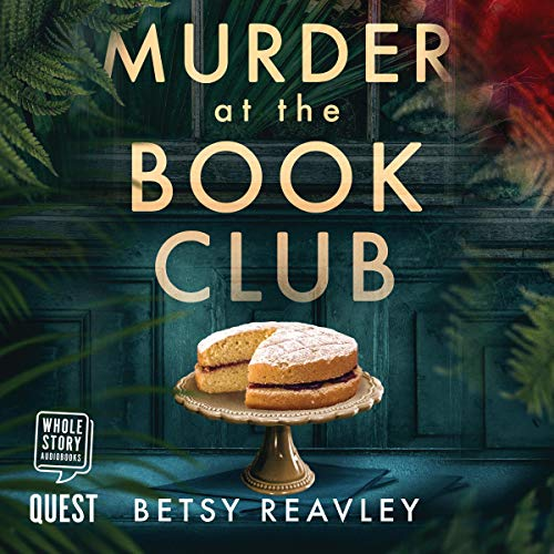 Murder at the Book Club audiobook cover art