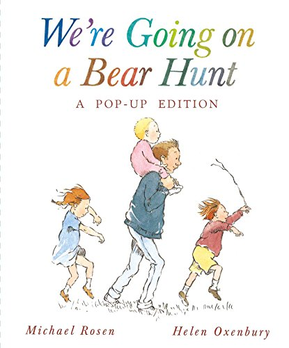 going on a bear hunt board book - 9