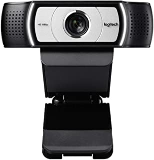 Logitech C930c HD Smart 1080P Webcam with Cover for Computer Zeiss Lens USB Video Camera 4 Time Digital Zoom Web cam (Asia...
