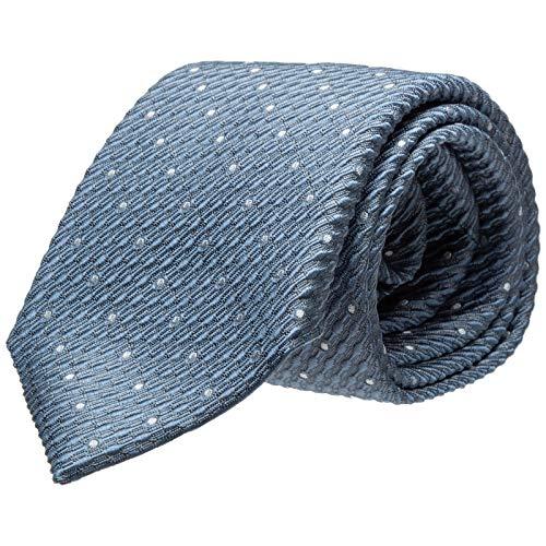 Emporio Armani herren Krawatte azzurro fumo