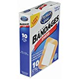 Premier Value Sheer Plastic Bandage 3X4-10ct