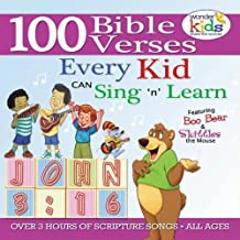 100 Bible Verses Every Kid Can Sing 'N' Learn Ages 2-7