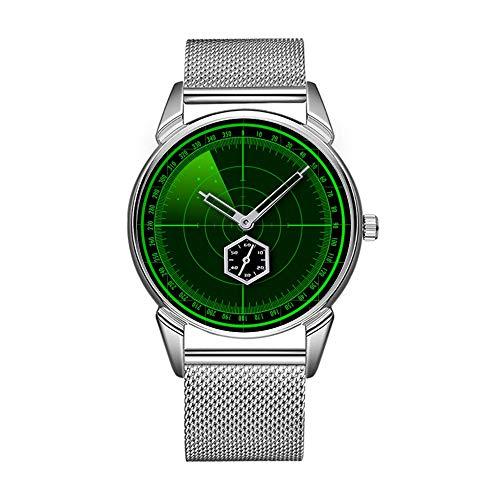 Mode wasserdicht Uhr minimalistischen Persönlichkeit Muster Uhr -791. Suche Radar Uhr