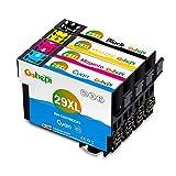 Gohepi 29XL Cartouches d'encre Compatible avec Epson 29XL 29, Travailler avec Epson XP 255 XP 345 XP 235 XP 332 XP 257 XP 355 XP 245 XP 247 XP 455 XP 452 XP 445 XP 442 XP 435