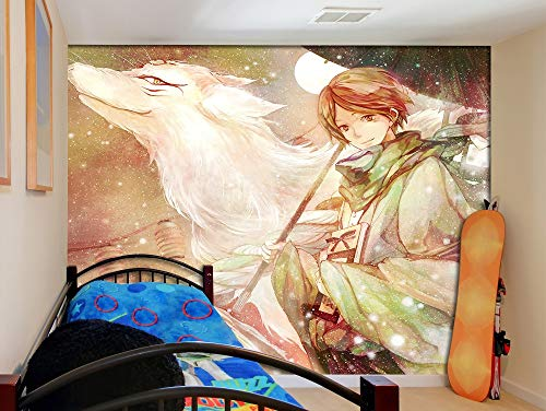 3D Print Anime Wallpaper Mural Wall Mural Wallpaper Cosplay Wall Painting Living Room Bedroom Office Hallway Decoration Wall Decoration Natsume yuujinchou 150 x 105 cm (W x H)