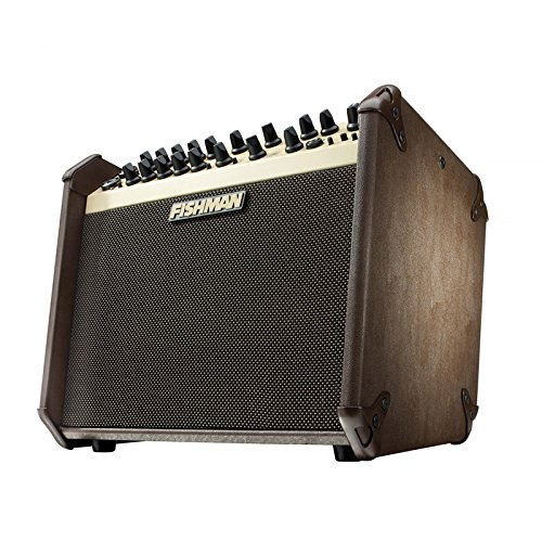 Fishman Loudbox Mini Limited Edition Black/White Acoustic Amplifier (LE Black and White 60 Watt Two Way)