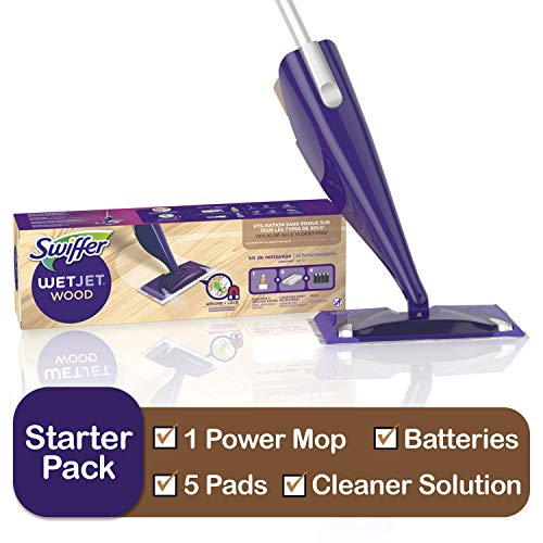 Swiffer WetJet Starter Kit, Includes: 1 Mop