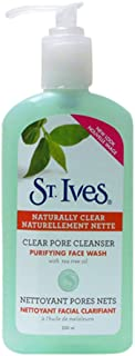ST. Ives Clear Pore Cleanser Purifying Face Wash With Tea Tree Oil(200ml)