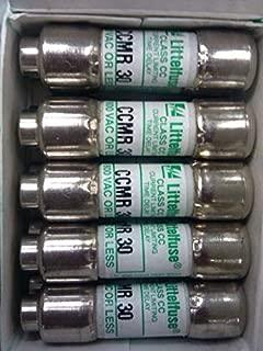 (5 PACK) GE Part Number WE1M1002 FUSE CCMR 30 AMP 120V