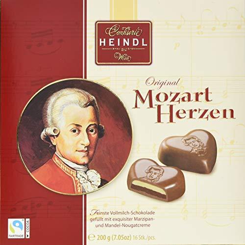 Heindl Mozart Herzen - Packung, 200 g