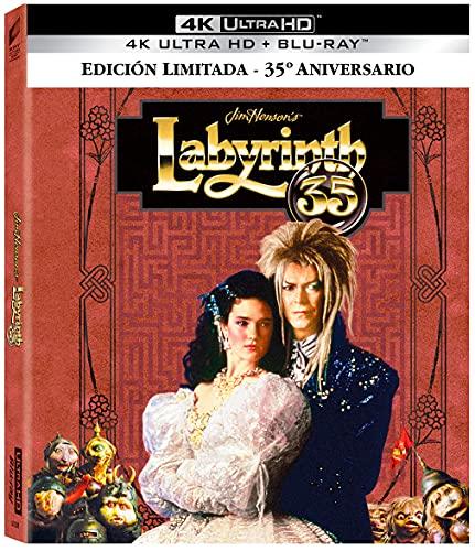 Dentro del laberinto (4k UHD + Blu-ray) (Ed. Especial 35 Aniversario) [Blu-ray]