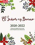 2020-2022 Planificador Mensual con Versículos...