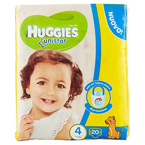 Huggies – Pañales Unistar 4Grande Maxi X8