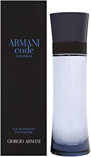Giorgio Armani Code Colonia Eau de Toilette Spray for Men, 4.2 Fl Oz