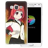 dessana Manga Anime Coque de protection transparente en silicone TPU ultra fine 0,7 mm pour Samsung...