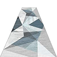 LXF 廊下敷きカーペット 幾何学的なデザインランナーラグとの非スキッドゴムバッキング、トラディショナルスリップ廊下エントリカーペットリビングルーム&ベッドルーム (Color : 0.6cm, Size : 80×200cm)