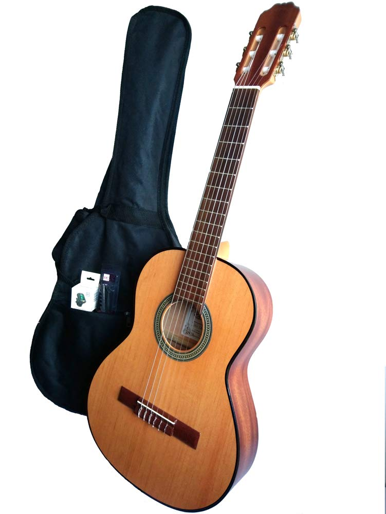 MARCE PACK NIÑOS - Guitarra Clasica de estudio 3/4 (caja armónica ...