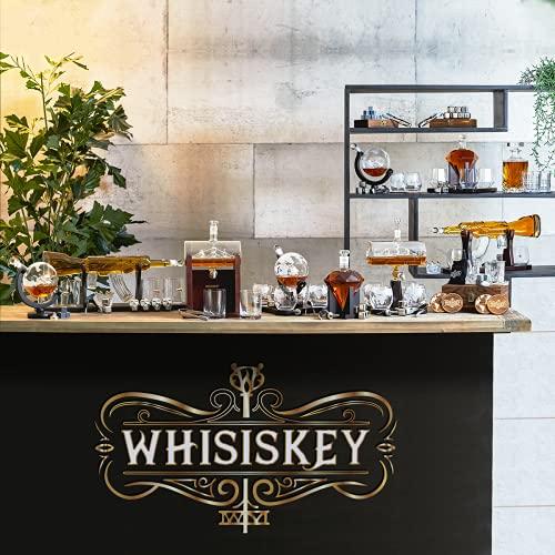 Whisiskey® Whiskey Karaffe - 7