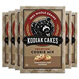 You will receive a Pack of (6) Kodiak Cakes Bear Country Oatmeal Dark Chocolate Cookie Mix, 18-Ounce Boxes 100% whole grain oatmeal dark chocolate cookie mix that actually tastes amazing Sweetened with brown sugar and made with Non-GMO ingredients Pa...